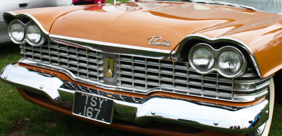 1959 Plymouth Belvedere 4 door Sedan at Weston Park April 2015