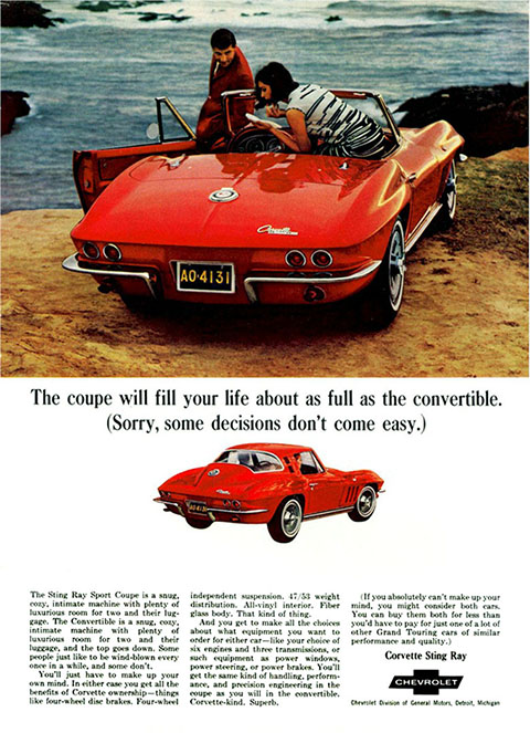 1965 Corvette Ad-small