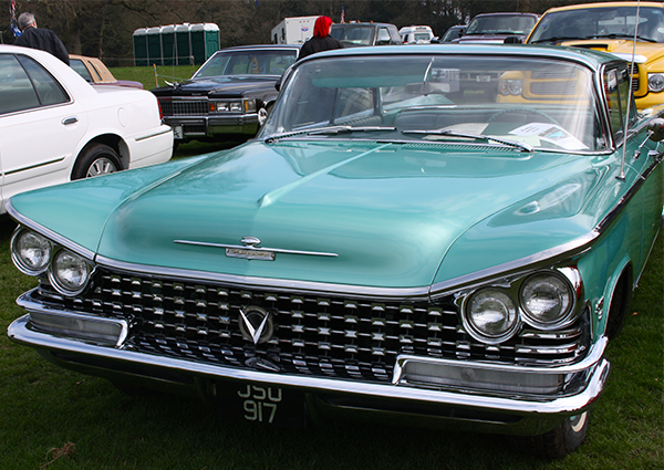 1959 Buick Electra 225 Hardtop at Weston Park April 2015