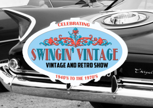 Swingin vintage retro music and dancing