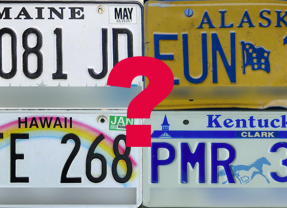How Well Do You Know Your US License Plates? Part 1
